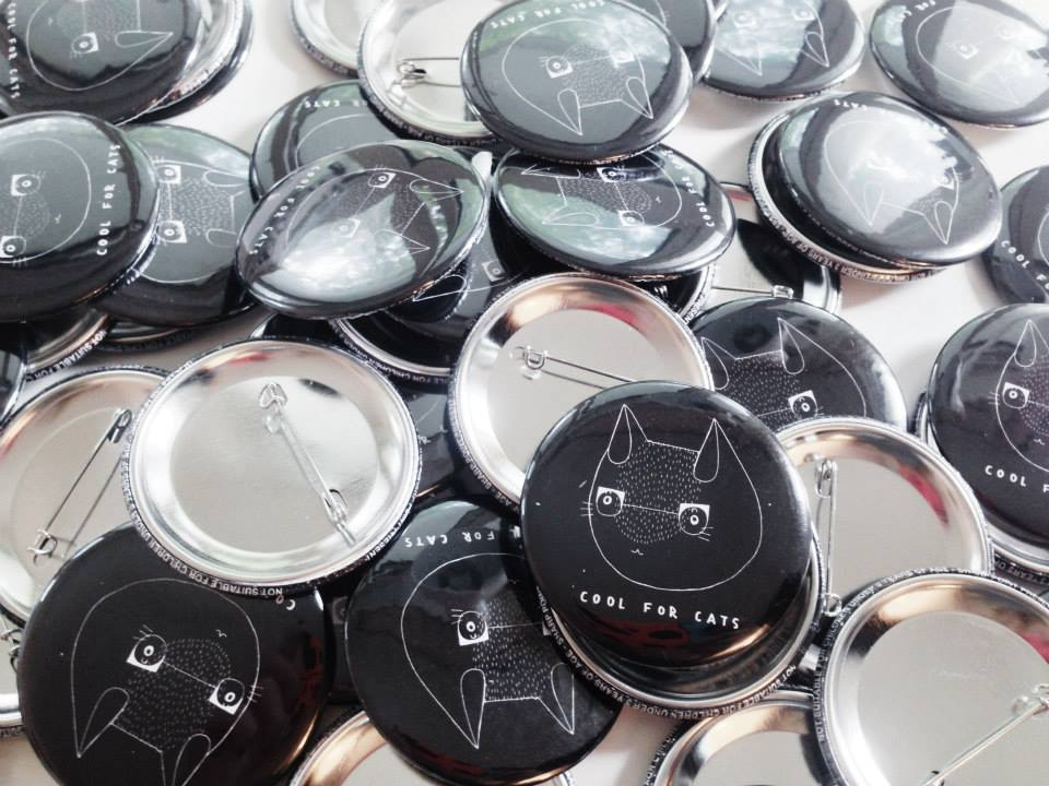 Cool for Cats Badges